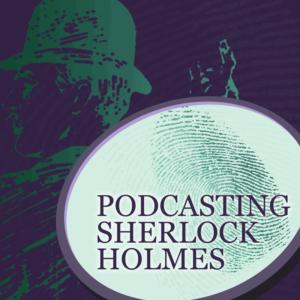 Podcasting Sherlock Holmes logo by Lorenzo Lalimarmo